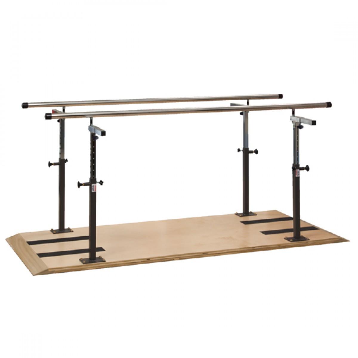 Platform Mounted Parallel Bars Clinton Platform Mounted