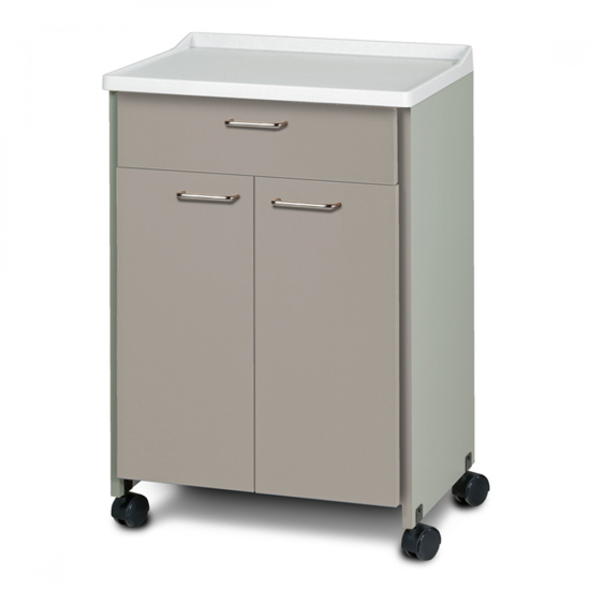 Clinton 8921 A 24 Inch Mobile Molded Top Cabinet W