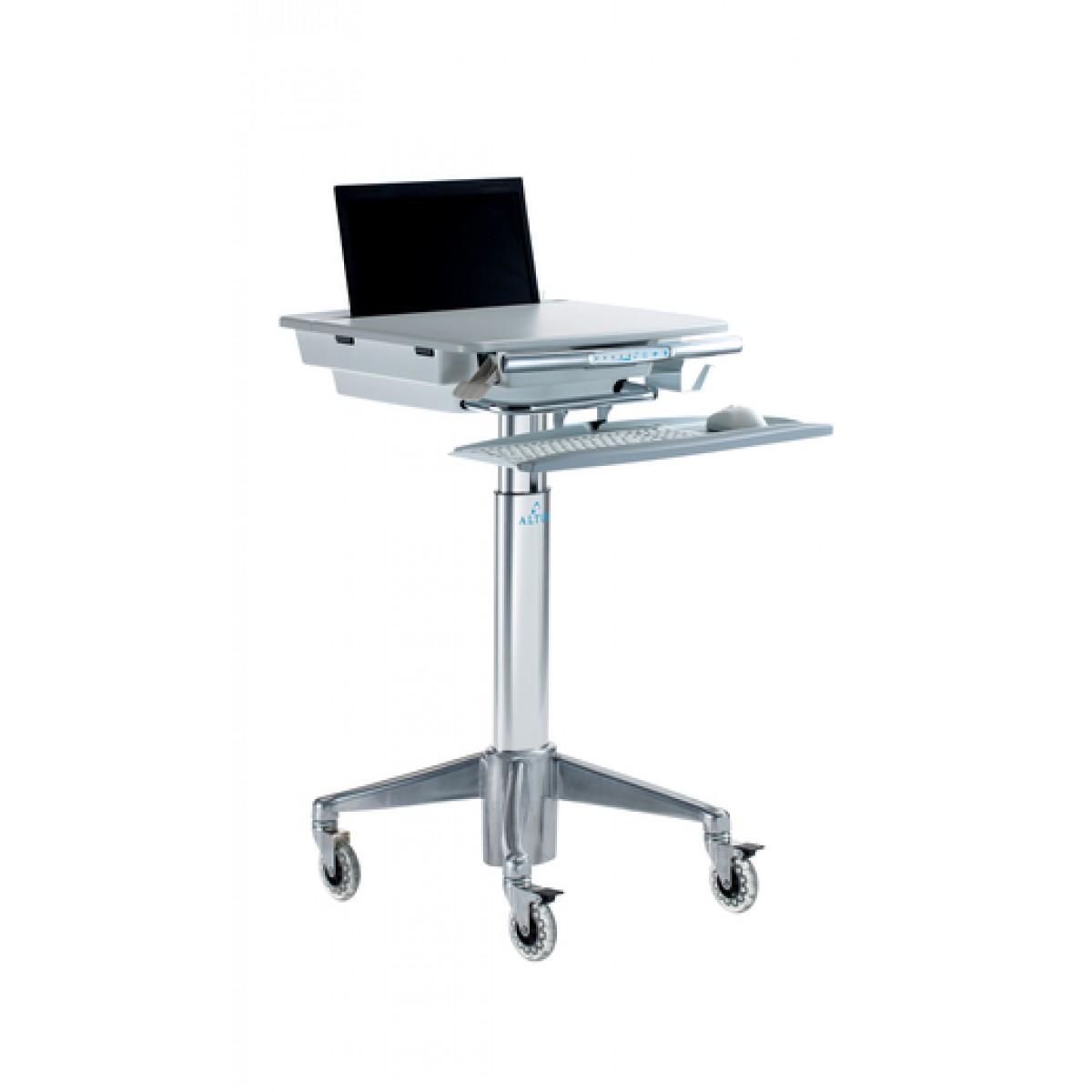 Computer Cart Portable Laptop Desk Hospital Laptop Cart
