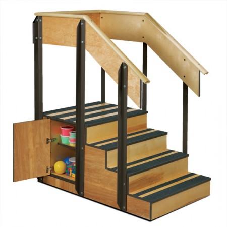 Clinton 4-8010 Staircase Storage Island