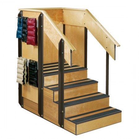 Staircase Storage Island Front
