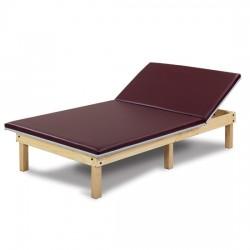 Mat Platform with Adjustable Backrest
