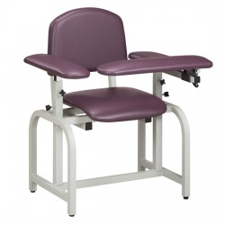 Clinton 66010 Blood Drawing Chair with Padded Arms, Lab X Series