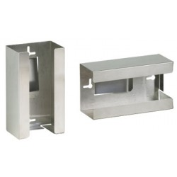 GS-3000 Single Stainless Steel Glove Box Holder