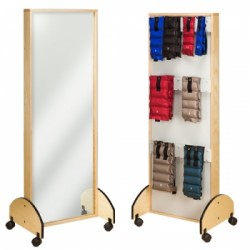 Mirror and Cuff Rack