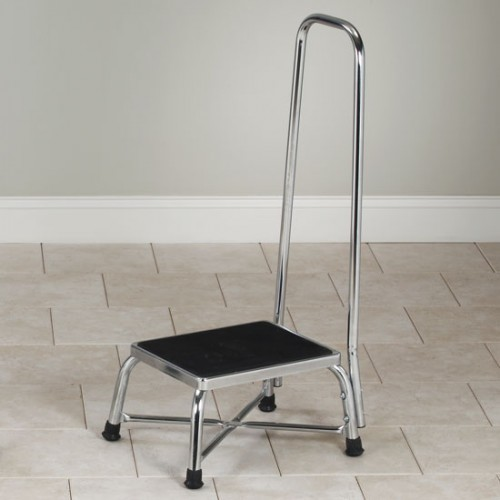 Bariatric Step Stool Hand Rail