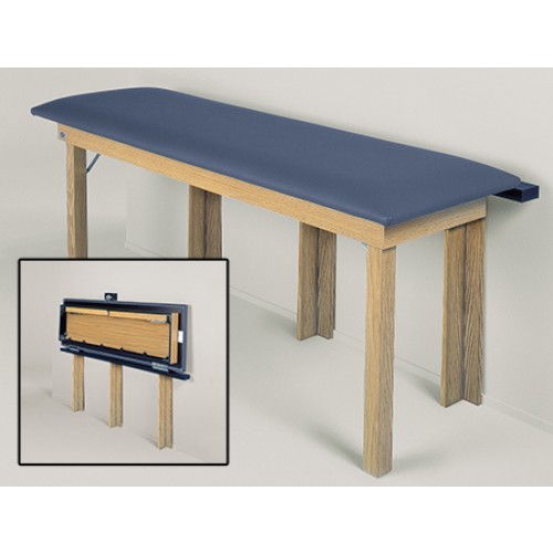 Hausmann 4075 wall mounted treatment table
