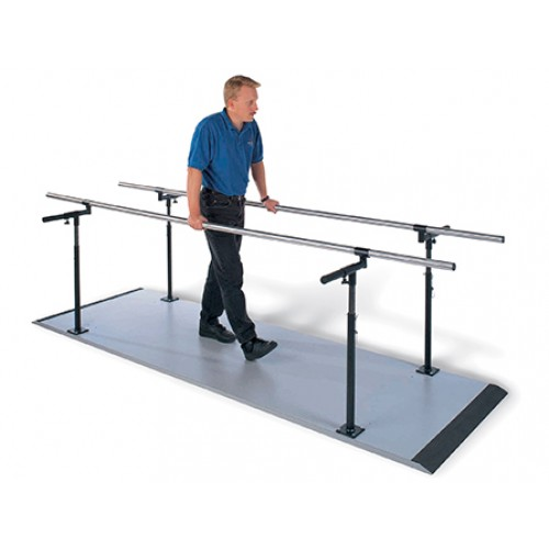 Hausmann S-321 7' Platform Mounted Parallel Bars