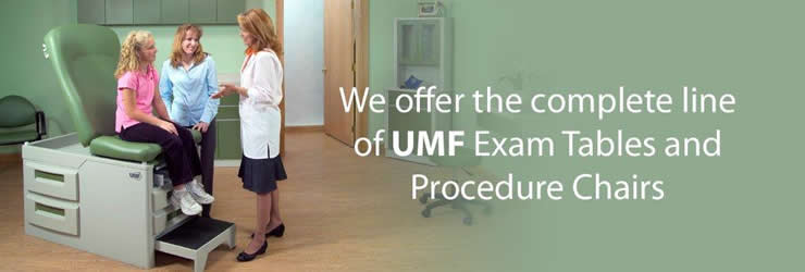 UMF Exam Tables and Procedure Chairs