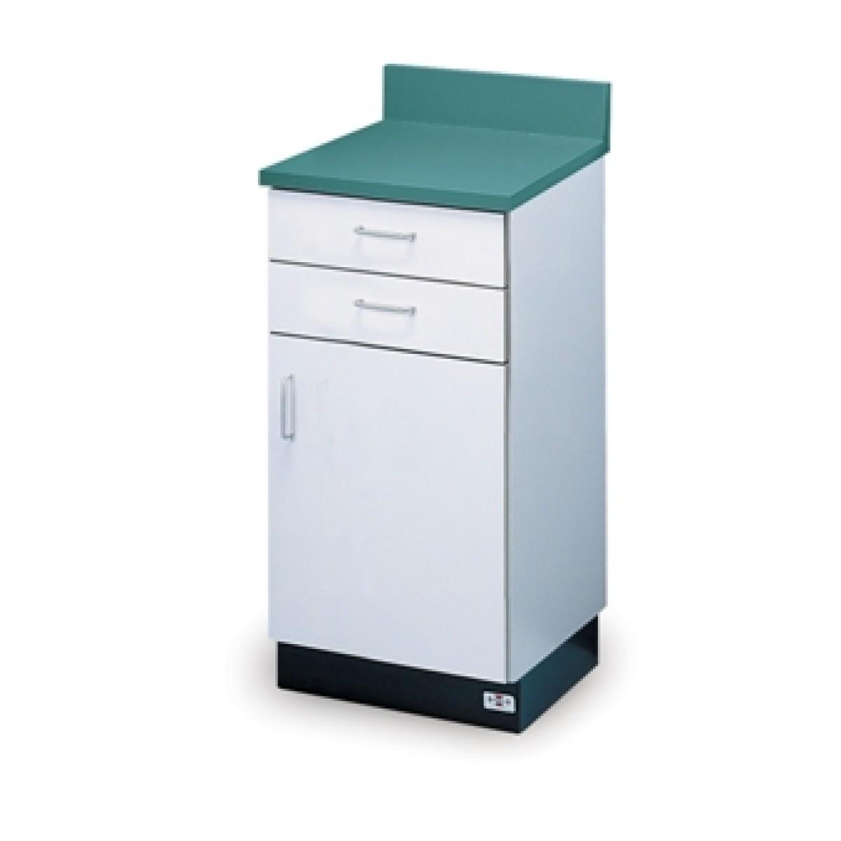 Hausmann B-18-2D 2Drawer, 1 Door Treatment Cabinet