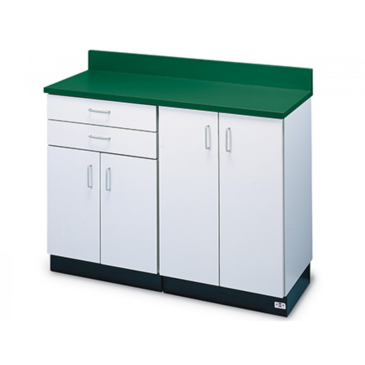 Hausmann B-401 48 Inch Cabinet W/ Four Doors And Two Drawers