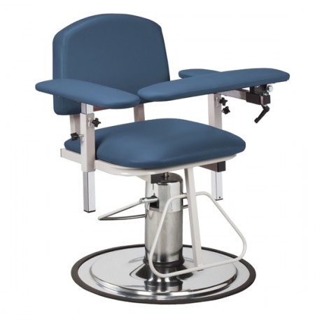 Clinton 6310 Blood Drawing Chair with Padded Arms