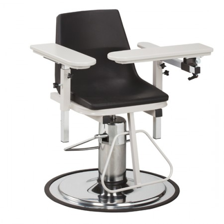 Clinton 6330-P Blood Drawing Chair with ClintonClean™ Arms