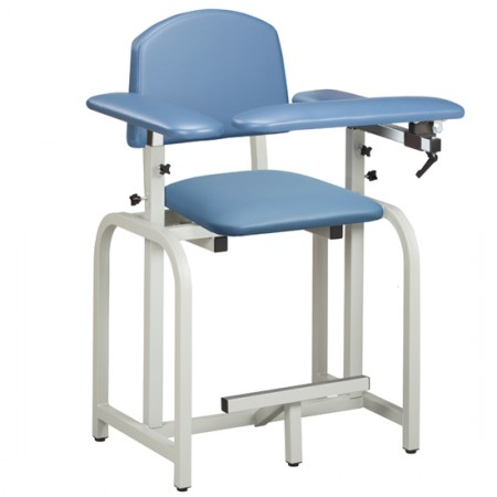 Clinton 66011 Extra-Tall Blood Drawing Chair with Padded Arms