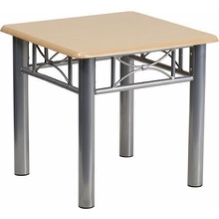 Natural Laminate End Table