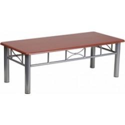 Mahogany Laminate Top Coffee Table