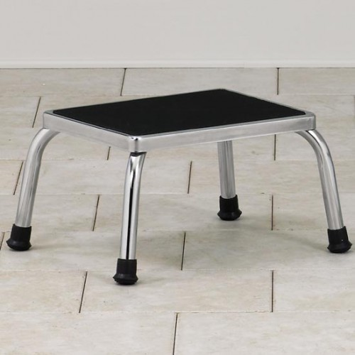 Chrome Foot Stool