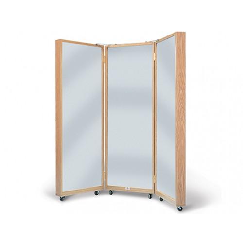 Hausmann 1670 triple panel mirror