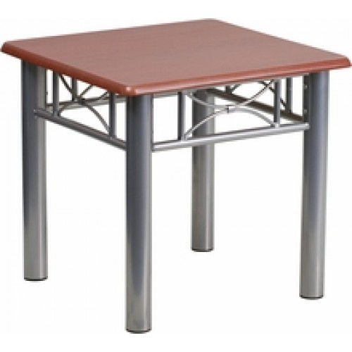 Mahogany Laminate End Table